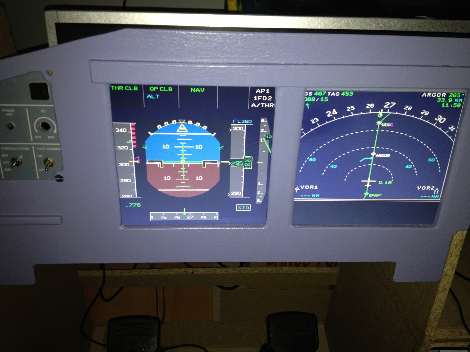 Some tests on MIP integration with Aerosoft Airbus X   Open